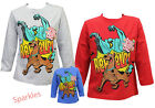 Scooby Doo Boys Long Sleeve Top 3-8 years New