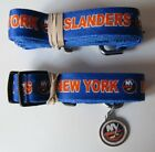 NEW NEW YORK ISLANDERS PET SET DOG COLLAR LEASH ID TAG ALL SIZES LICENSED $11.75 USD on eBay