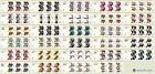 2012 Olympic Games Gold Medal Winners Individual Miniature Sheets (Mint Stamps)