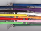 100 x 10mm Breakaway Safety Neck Strap Lanyards-11 Colours Available FREE UK P&P