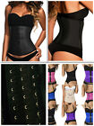 Moldeate 8033  3 Hooks  Rows  Black Latex Workout Waist Trainer Clasica