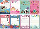 20 Party INVITATIONS & Envelopes (Happy General Birthday)(HAMBLEDON)