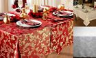 Tablecloths Napkins Runners Placemats Wine Cream White Gold Silver 4 - 10 Seater