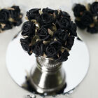 72 pcs CRAFT Mini SATIN ROSES -  Wedding PARTY FAVORS DISCOUNTED SUPPLIES SALE