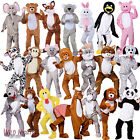 Animal Mascot Costumes Big Head Zoo Woodland Jungle Farmyard Fancy Dress