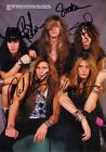 SKID ROW Youth Gone Wild SIGNED Autographed PHOTO Print POSTER CD Shirt 002