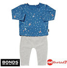 Bonds New Baby Kids Boys Long Pyjamas Pjs Sleepwear Blue Set Size 000 00 0 1 2 3