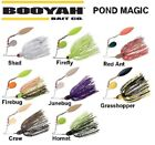 BOOYAH POND MAGIC SPINNERBAIT, 3/16 oz, COL / WILLOW BLADES, CHOICE OF COLORS