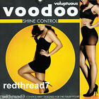 Voodoo Voluptuous Control Shine Plus Size 18 20 22 24 Sheer Slimming Pantyhose