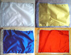 """New Nylon Golf Flags -20"""" x 14"""", red, blue, white, yellow-3/4"""" pole sleeve"""