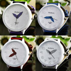 Wholesale Cute Women Girls Round Face Zebra Stripes Strap Quartz Wrist Watches