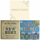 6 NEW HOME (Change of Address) CARDS & Envelopes {NH PI}