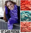 GRUNDL POMPOM SPIRIT SPRING RIVER SCARF 50g BALL 3 COLOURS Wool Yarn Knitting