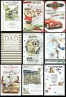 FATHER'S DAY card ~ CHOICE OF TITLES, DESIGNS with FABULOUS VERSES ~ Fathers Day