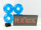 Bones Reds Bearing + Blank Pro 52mm Skateboard Clear Color Wheels + Spacer