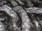 Super Luxury Faux Fur Fabric Material - GREY HUSKY 264
