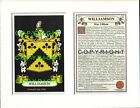 WALKER to WILSON Family Coat of Arms Crest + History - Mount or Framed