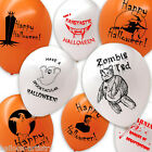 Halloween Horror Haunted Party Printed Latex Balloons All In 1 Listing