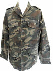 RINGSPUN Jacket Mens Coat Military Style Cane Camo Army Green Sizes:S,M
