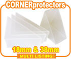 Plastic Corner Protectors, Canvas Frame Corner Protection - 18mm & 38mm Deep