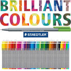 STAEDTLER TRIPLUS FINELINER - individual pens or boxes in 30 brilliant colours!!
