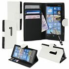 For Nokia Lumia 920 Leather Case Flip Wallet Credit Card Holder Cover