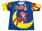 Mens Manga Japanese Anime Cartoon Cool Print Tshirt T-shirt Adult Large & XL New