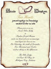 qty 50 Heart Ring Scroll Wedding Party Invitations Invites