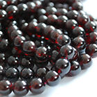 Grade A Natural Garnet Semi-precious Gemstone Round Beads 4mm 6mm 8mm 10mm 12mm