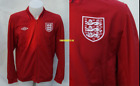 BNWT Umbro England Red Unsponsored Football Jacket  Mens - RRP £49.99