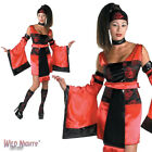 *** SALE *** FANCY DRESS COSTUME D LADIES SEXY SAMURAI LADY SIZE 10-16