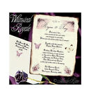 qty 50 Whimsical Royal Butterfly Scroll Wedding Party Invitations Invites