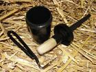 New Horse or Pony Hoof Oil Brush & Container plus FREE HOOF PICK - Fast Post