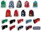 OFFICIAL FOOTBALL CLUB - GYM & SHOE / BOOT BAGS - Focus & Multi Crest Designs