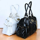 New Fashion Women PU Faux Leather Hobo Clutch Purse Handbag Shoulder Totes Bag