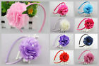 Baby Girl Infant Toddler Flower Headband Kids Hair Band Girls Accessories