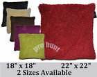 """Nevada Designer Cushion Cover, 2 Sizes 18"""" x 18"""" And Large 22"""" x 22"""", 6 Colours"""