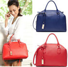 New Women's PU Leather Fashion Vintage Handbag Shoulder Tote Satchel Bag Purse