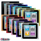 New 2 X Silicone Skin Case Cover for Apple iPod Nano 6 Colour Choice UK Seller
