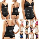 Siluet Mimosa with 3 Hook/Rows Latex Workout Waist Band Clasica BLACK=gris