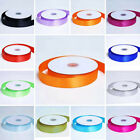 """1"""" x 50 yards DOUBLE Sided SATIN Ribbon Wedding FAVORS Invitations Sewing Crafts"""