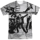 Elvis Presley Jubilant Felons All Over Sublimation Licensed Adult T Shirt