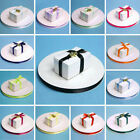 "3/8"" x 100 yards SATIN Single Side RIBBON Wedding FAVORS Crafts Invitations"