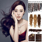 "100g 14""-26"" Remy Brazilian Natural Body Wave Human Hair Extensions Weaving Weft"