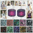 SIRDAR FIREFLY FANCY GLITTER & PLAIN LADDER SCARF YARN - FROM 1/2 PRICE!