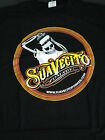 AUTHENTIC SUAVECITO POMADE TOP LOGO T SHIRT  SKULL HAIR ROCKABILLY BARBER