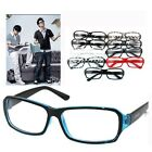 CLEAR WAYFARER COLOR NERD GLASS OPTICAL Resin Plastic Frame 11 Color Glasses