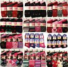 12 x Pairs Ladies Womens Thermal Socks Warm Winter Thick Socks Size 4-7