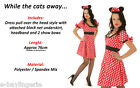 Sexy Cute Minnie Mouse Animal Halloween Party Costume Fancy Dress