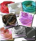 10 m 20 m 30 m Pretty Silky Cord Rat Tail 2 mm 8 colours Kumihimo Trimming